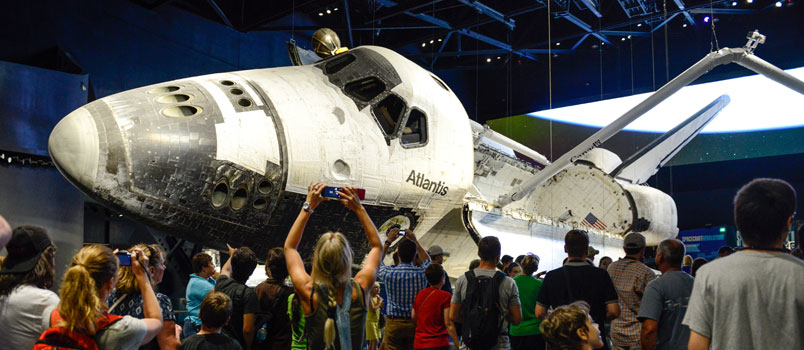 Atlantis, Kennedy Space Center