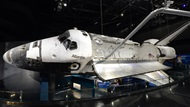 Space Shuttle Atlantis attraction at Kennedy Space Center Visitor Complex