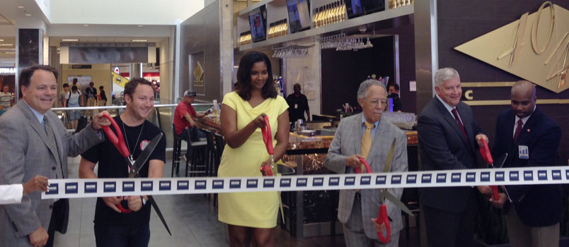 ribbon cutting at Hartsfield-Jackson Atlanta International Airport