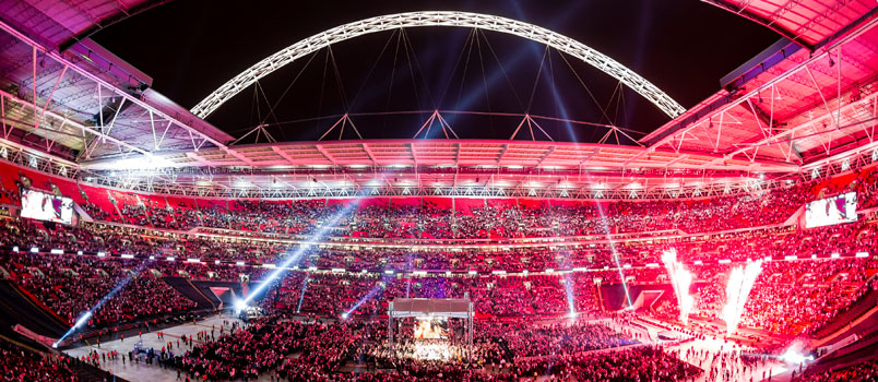 Frock versus Groves at Wembley Stadium