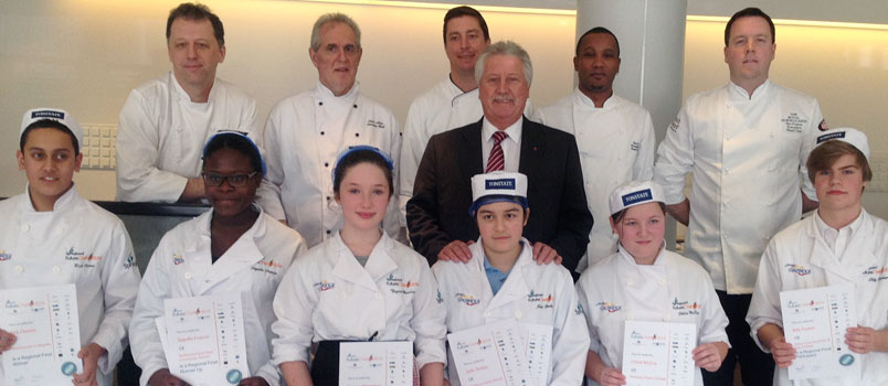 Culinary Pros at Emirates Stadium work with The Springboard Charity