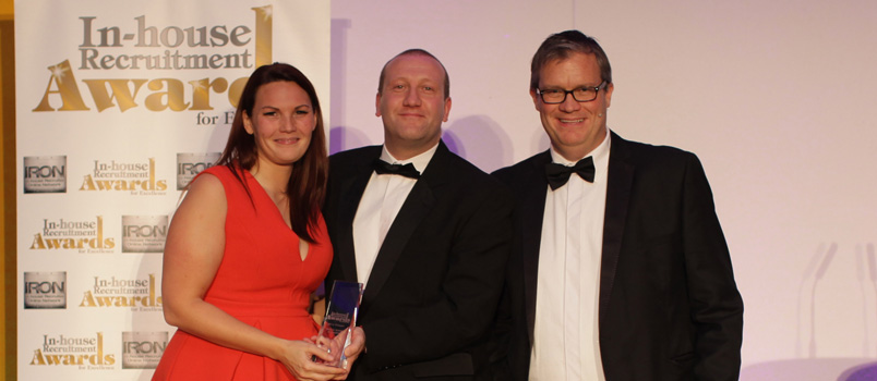 Kerry Richards named best in-house recruiter 2014
