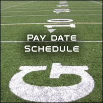 Pay Date Schedule
