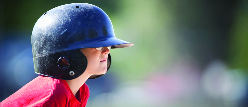 kid baseball helmet