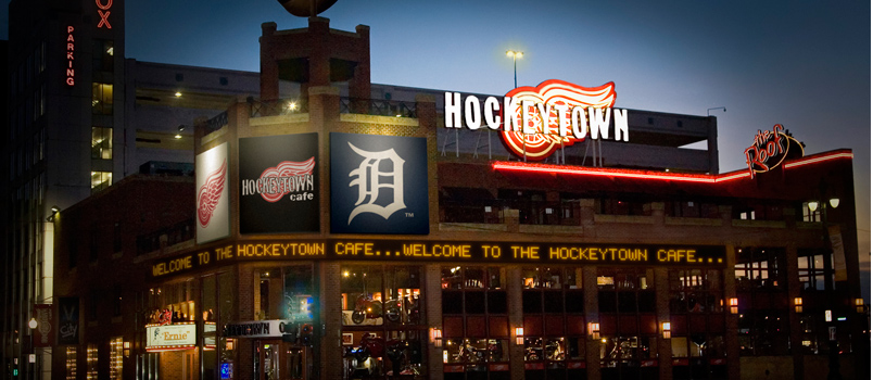 Hockeytown Cafe