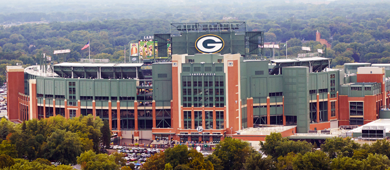 Lambeau Field Nfl Green Bay Packers Delaware North