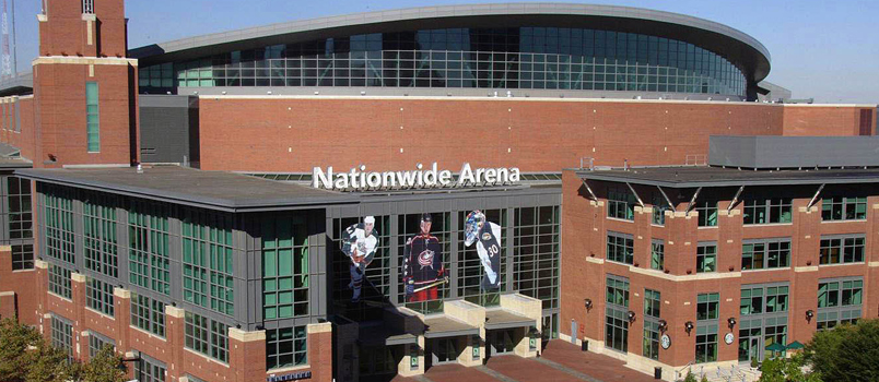 Nationwide Arena NHL Columbus Blue Jackets Delaware North