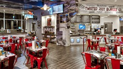Dallas Fort Worth International Airport Twisted Root Burger